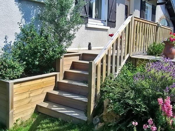 Escalier terrasse exterieur jardin 28 images escalier for Escalier exterieur pour terrasse